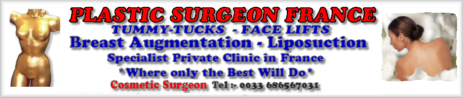 Plastic surgeon France cost less