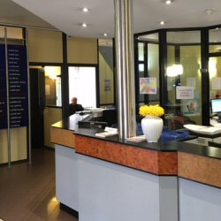 The Clinic Reception area
